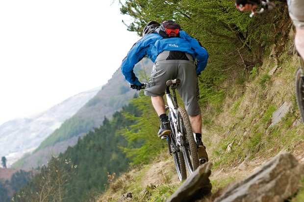 Riders can check out some of the best trails south Wales has to offer in the Macmillan Afan Monster