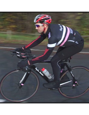 Paul Molyneux training for the RAAM