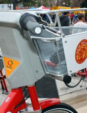 Plentiful ad space on the bikes help fund the program.