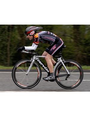 Tim Challinor was fastest disabled rider