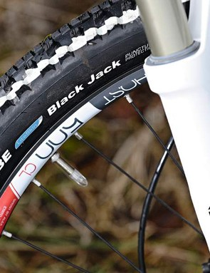 The Schwalbe treads are grippy, comfy and surprisingly fast rolling