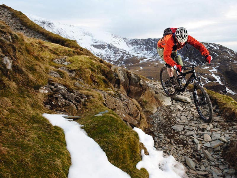 Testing the bikes to their limits