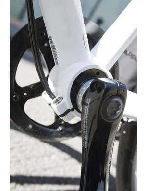 Eccentric bottom bracket