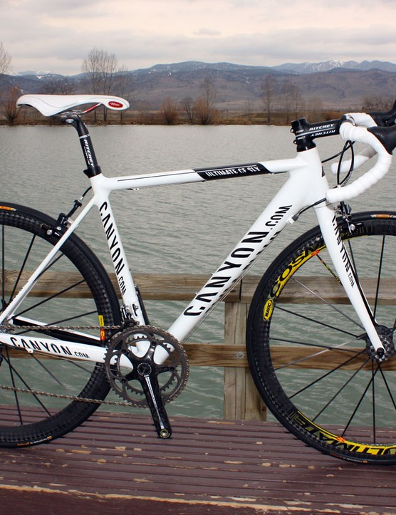Our Canyon Ultimate CF SLX Team tester is virtually identical to ones ridden by the Omega Pharma-Lotto squad