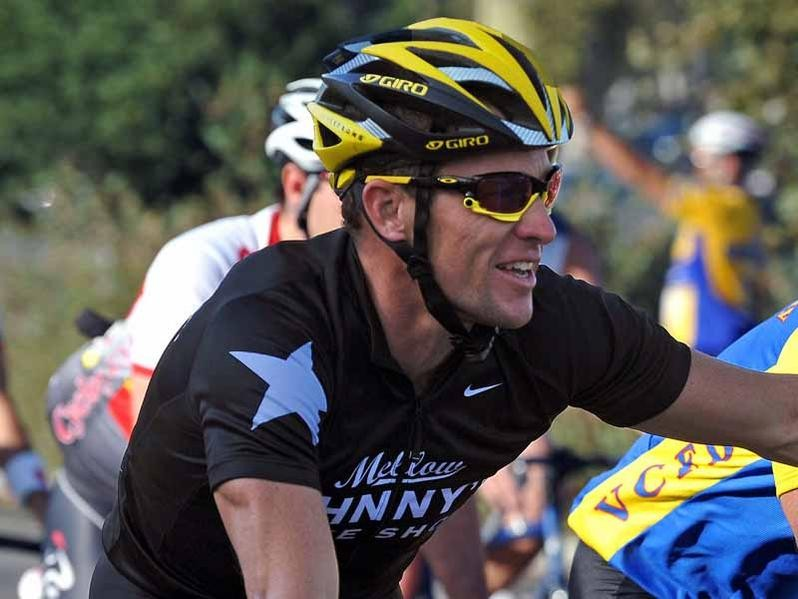 Lance Armstrong is competing in the Tour of the Gila