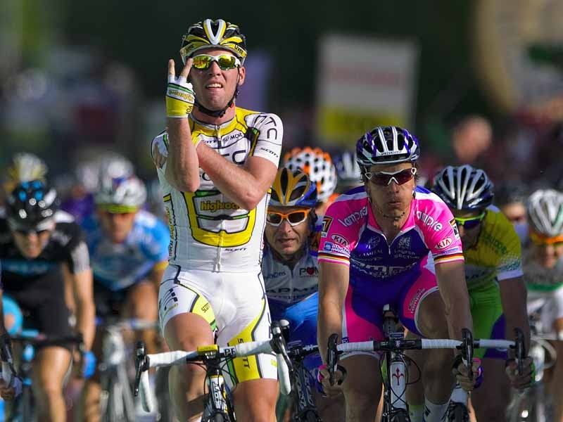"""Mark Cavendish wins stage 2 of the Tour de Romandie, and sends a message out to """"commentators and journalists"""" who wrote him off"""
