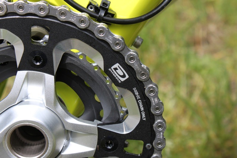 While the crank arms are the same, the XT Dyna-Sys chainrings are new