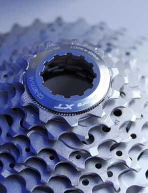 The XT Dyna-Sys 10-speed cassette