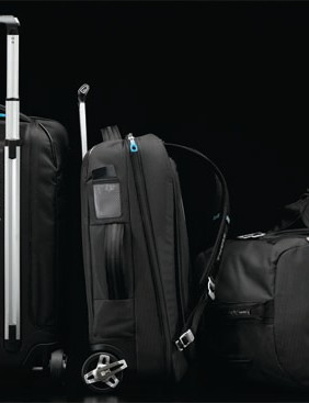 A sample of Thule's new Crossover luggage line