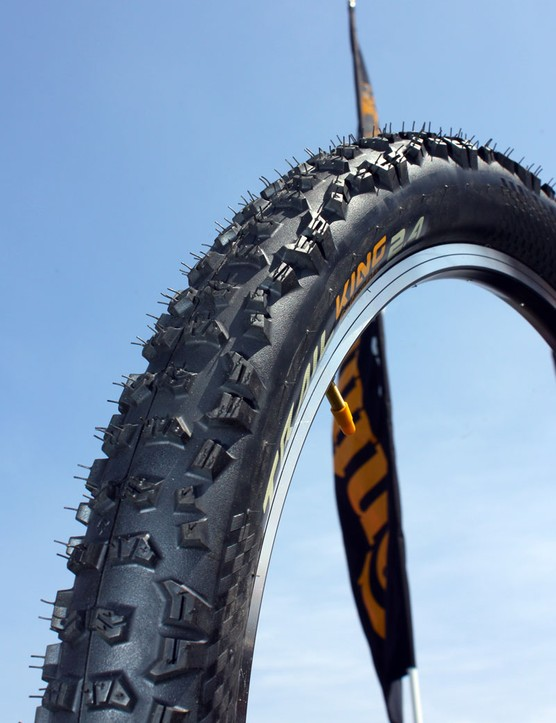 Continental's Rubber Queen all-mountain tyre has been renamed 'Trail King' but otherwise remains the same