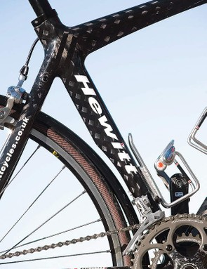 Carbon fibre frame is made in the Far East