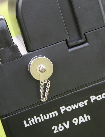Lithium ion power pack