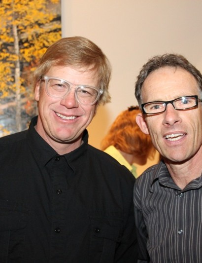 Greg Herbold and Ned Overend, the 1990 downhill and cross-country world champions.