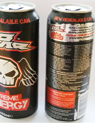 No Fear Extreme Energy