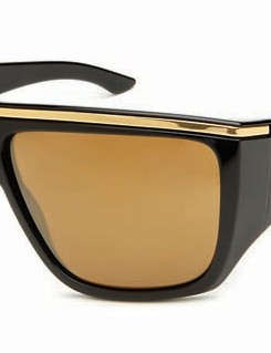 The Rayavanna is another women's model, and the Polished Black frame/Gold Iridium lens combination shown here is definitely one for fans of bling and '80s style (if that isn't an oxymoron). RRP £120