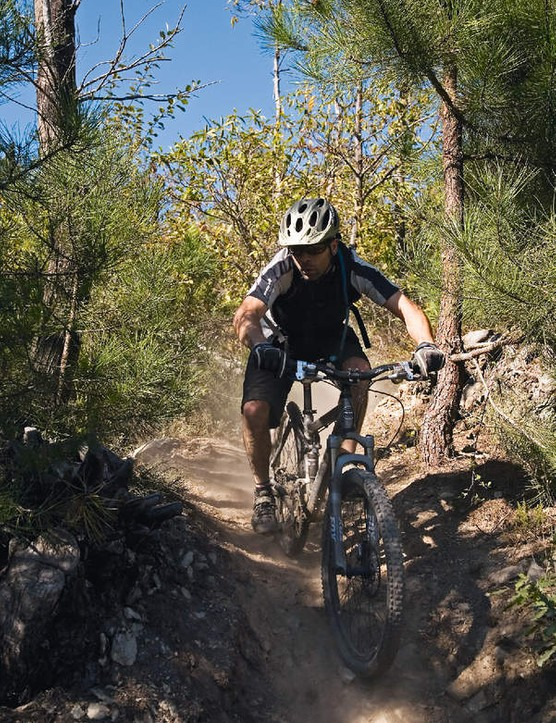 The descent was so good that we decided to ride it twice