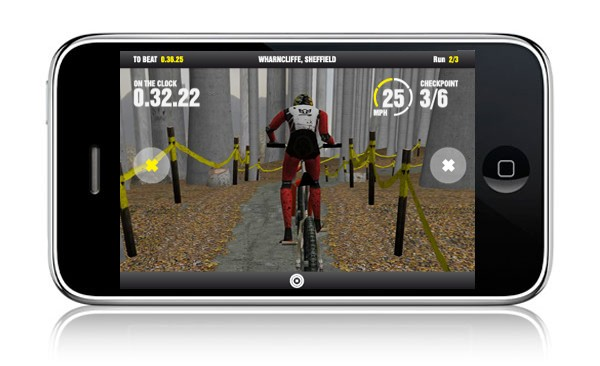 Screenshot from 'Steve Peat – Downhill Mountain Biking'