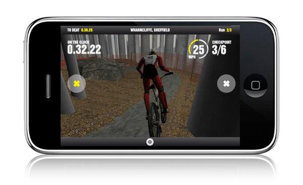 Screenshot from 'Steve Peat – Downhill Mountain Biking'