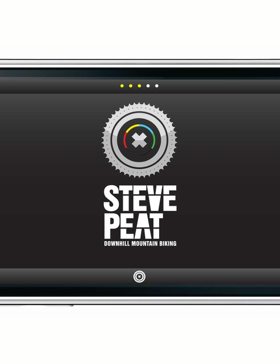 Britain's downhill world champ Steve Peat now has his own iPhone app