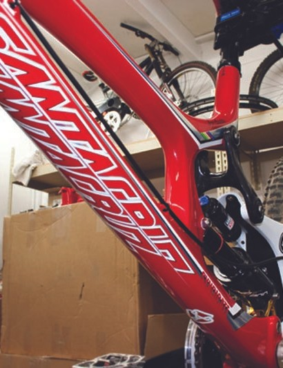 Santa Cruz believe their carbon will hold up to the rigours of the World Cup circuit