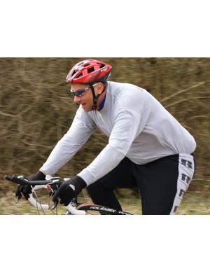 Sir Steve training in March
