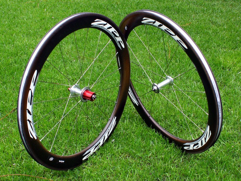 Zipp debuted its first all-carbon clincher today prior to the start of the 2010 Giro d'Italia.