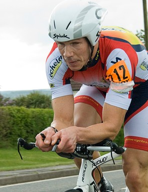 James Wall finished a fine third, just a few seconds behind Bottrill