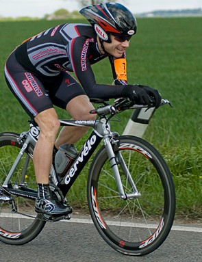Tim Challinor won the disabled category