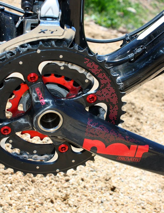 More carbon is found in the Truvativ Noir crank