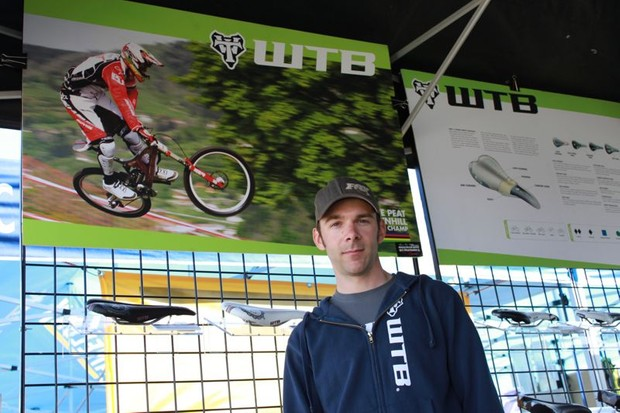 WTB's Jason Moeschler, racer, OEM sales and product developer.