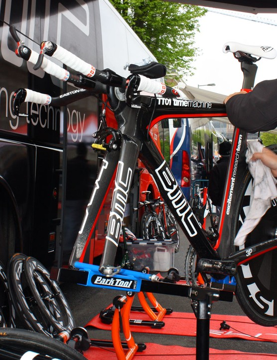 BMC's Time Machine TT01 normally looks like this up front