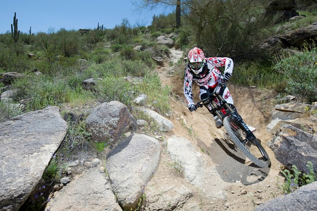 Trek World Racing rider Andrew Neethling at the 2010 team camp in Phoenix, Arizona