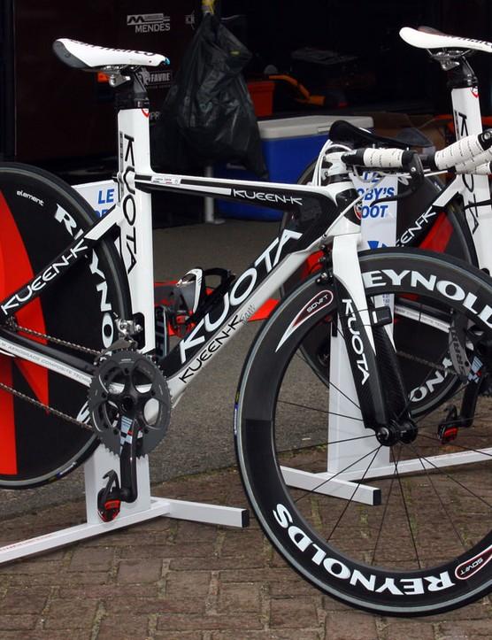 Ag2R tackled the Giro d'Italia prologue on Kuota's Kueen-K