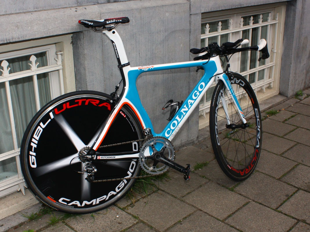 Colnago provided BBox-Bouygues Telecom riders with their aero Flight model