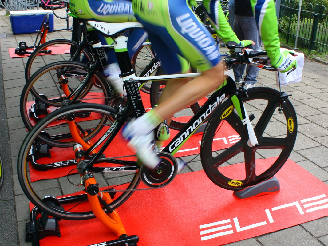Liquigas-Doimo are using their familiar Cannondale Slice bikes for this year's Giro d'Italia time trials