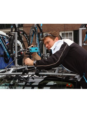 Team Sky don't just have a major media corporation backing them – they walk the walk, too, regularly recording the action for their own analysis with on-car cameras