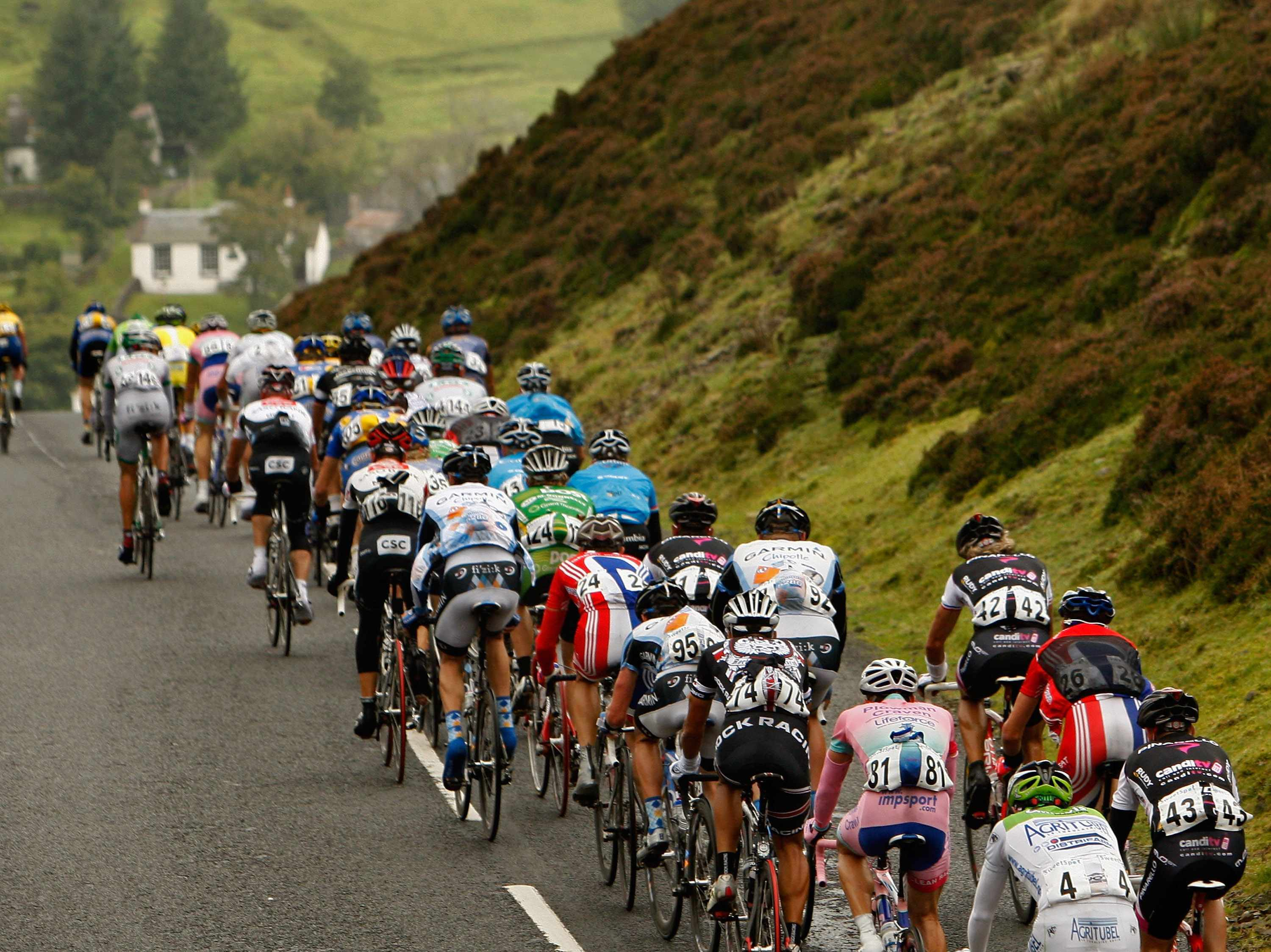 Participants in the annual Etape Caledonia get to emulate the pros and race on closed roads