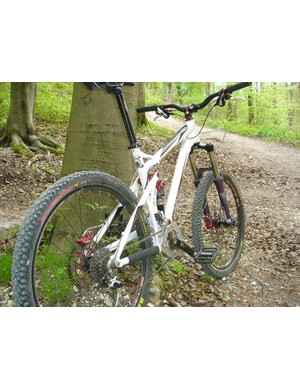 French brand Labyrinth are new to the UK but their Agile all-mountain bike looks promising