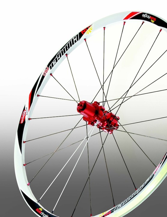 The Sun Ringlé Charger wheel with Stan's NoTube's BST rim technology