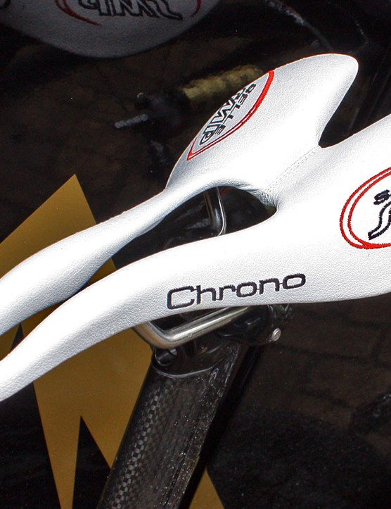 Footon-Servetto riders perch themselves atop radical looking Selle SMP saddles