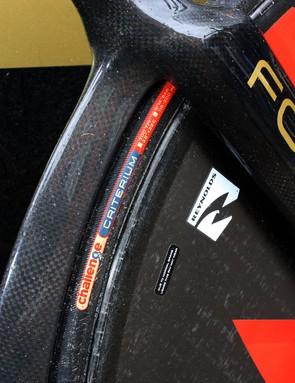 Footon-Servetto are using Challenge tubulars across the board