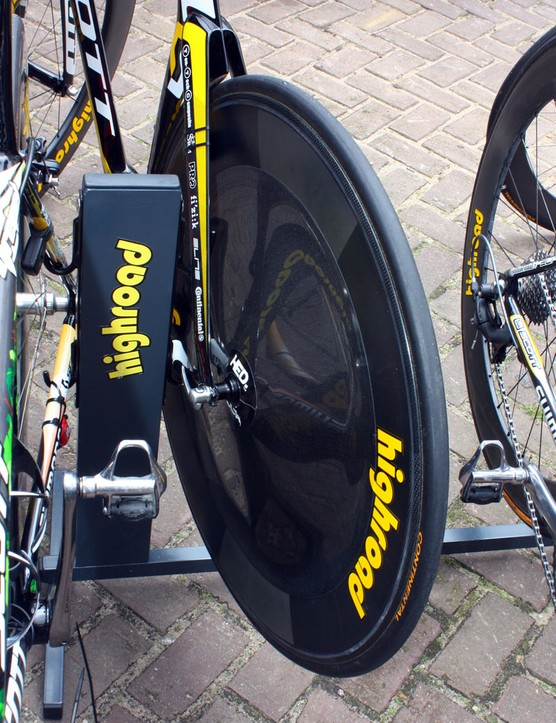 Marco Pinotti is using a HED Stinger Disc