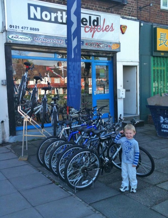Dan outside Northfield Cycles