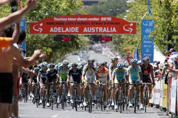 The Tour Down Under is the high point of the southern hemisphere's racing scene