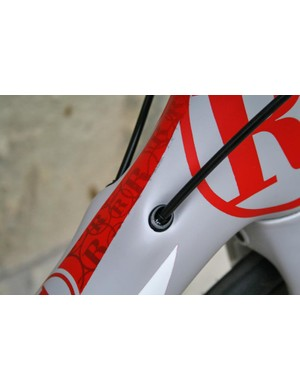 Internal cable routing for a sleek look