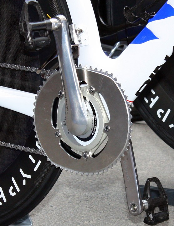 Bradley Wiggins' updated O.symetric outer chainring displays revised tooth shaping and new ramps to improve shifting performance