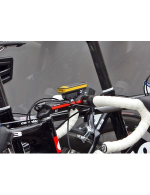 Several riders on Cervelo TestTeam are using Saris's new Joule 2.0 computer