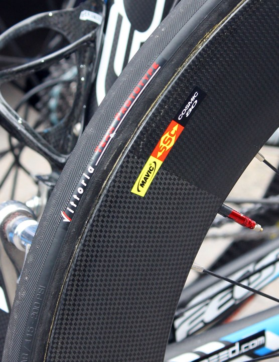 Looks like it's now official: Mavic's new deep-section wheel will be called the Cosmic 80