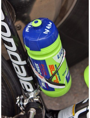 It's quite common for riders to request specific drink mixes in their bottles