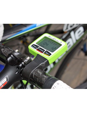 SRM's PowerControl 7 is now available to the public – but not in this Liquigas-Doimo green hue as far as we're aware